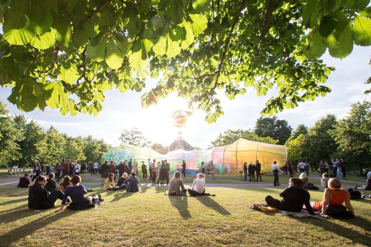 SelgasCano's Serpentine Pavilion / Images by Laurian Ghinitoiu, Serpentine Pavilion 2015 designed by selgascano. Image © Laurian Ghinitoiu