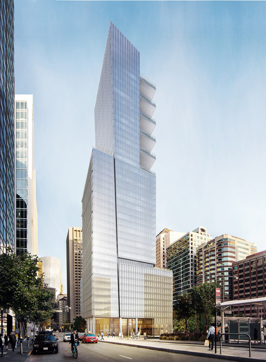 "Goettsch Partners Design 605-Foot ""Park Tower"" for San Francisco , © GP"
