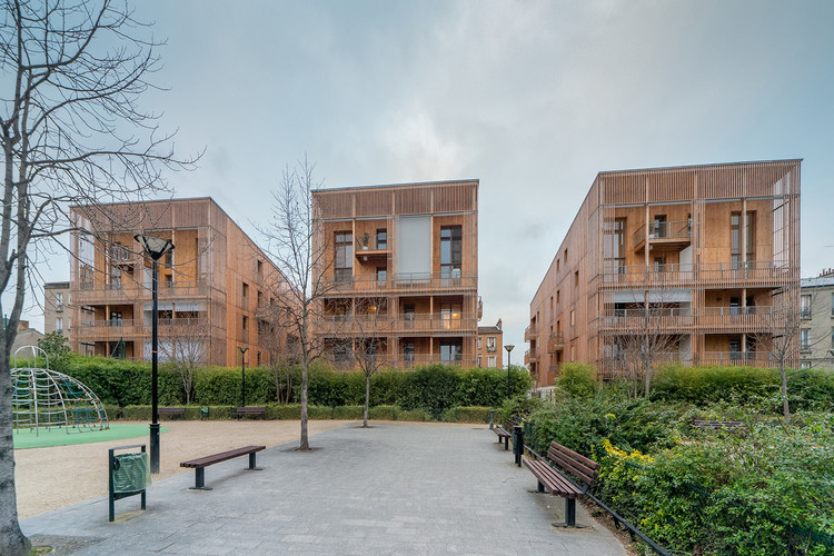 Housing in Auvry Barbusse / Tectône, © Christophe Demonfaucon