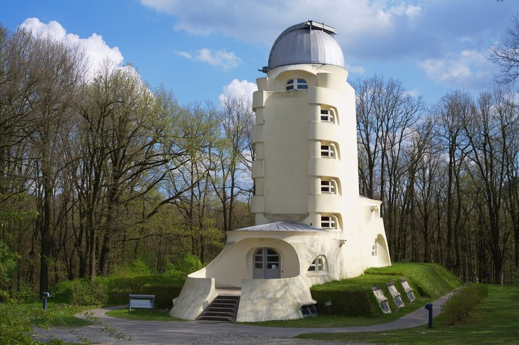 14 Modern Buildings Receive Conservation Grants from the Getty Foundation,  The Solar Observatory Einstein Tower on the Telegrafenberg in Potsdam. Image © R. Arlt / Leibniz Institute for Astrophysics Potsdam (AIP)