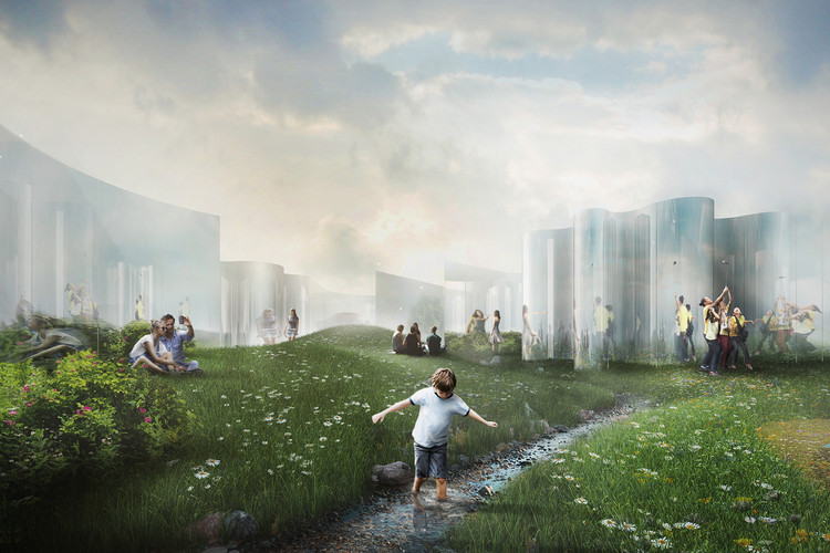 """Your Reflection"" Selected as Winning Proposal of YAP_Constructo Chile, Courtesy of Guillermo Hevia García + Nicolás Urzúa"