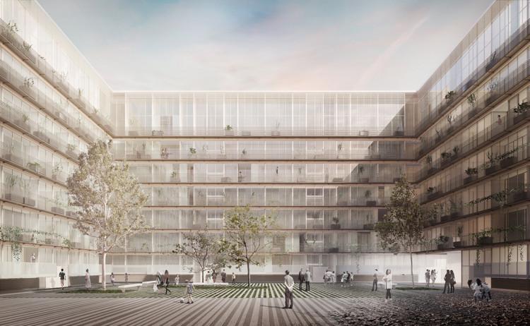 Bakpak Architects + Ignacio de la Peña Muñoz, segundo lugar ex aequo en 'Madrid 0,0', Cortesia de Bakpak Architects