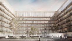Bakpak Architects + Ignacio de la Peña Muñoz, segundo lugar ex aequo en 'Madrid 0,0'
