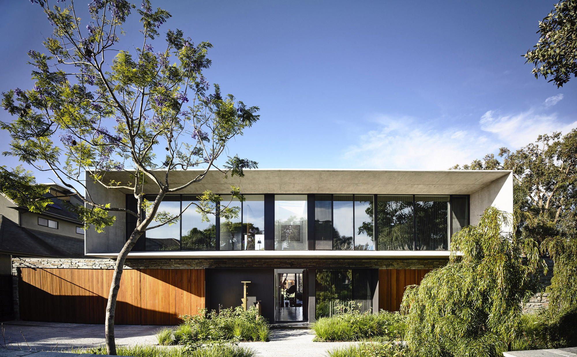 concrete house / matt gibson architecture | archdaily