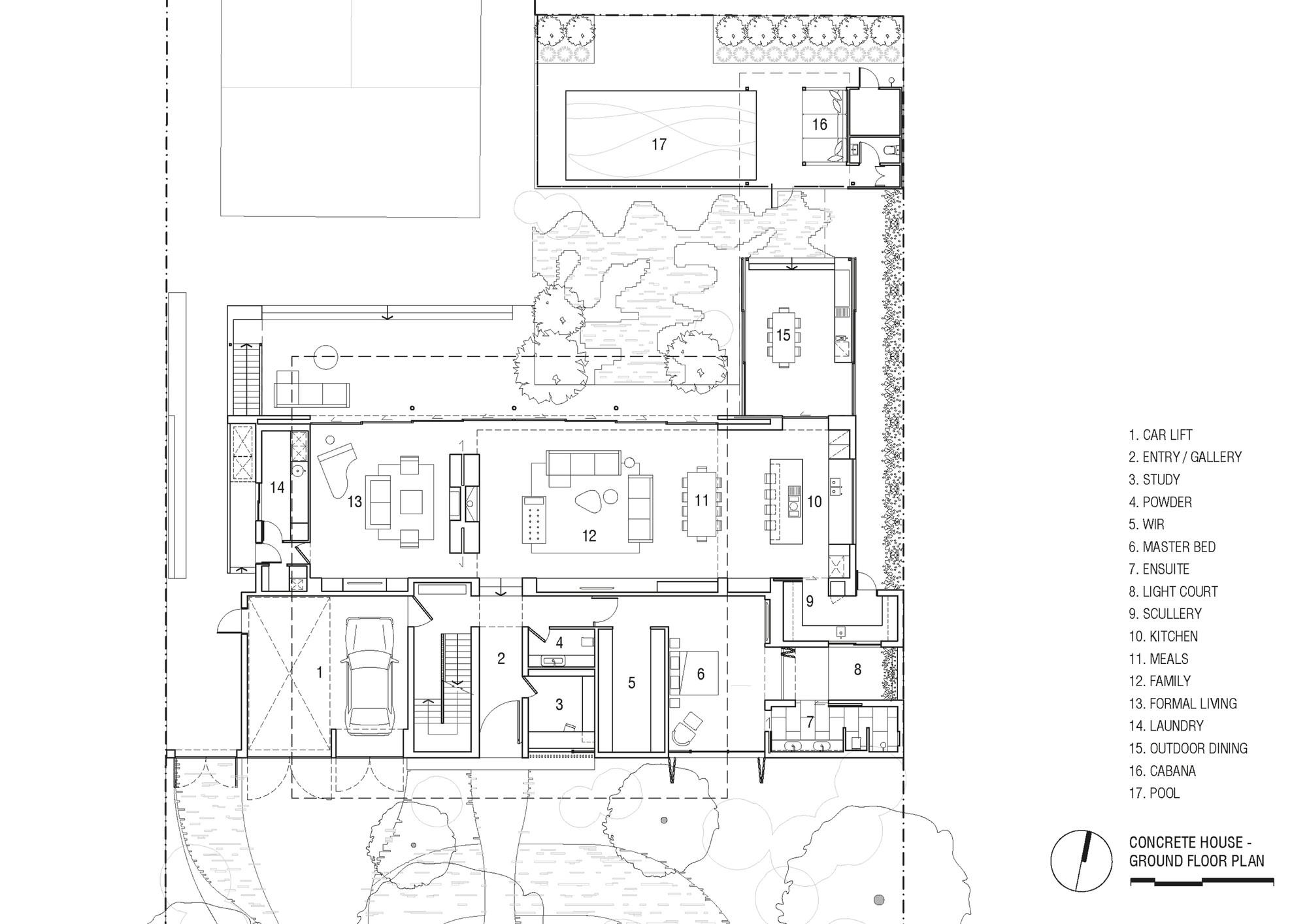 Gallery Of Concrete House Matt Gibson Architecture 22