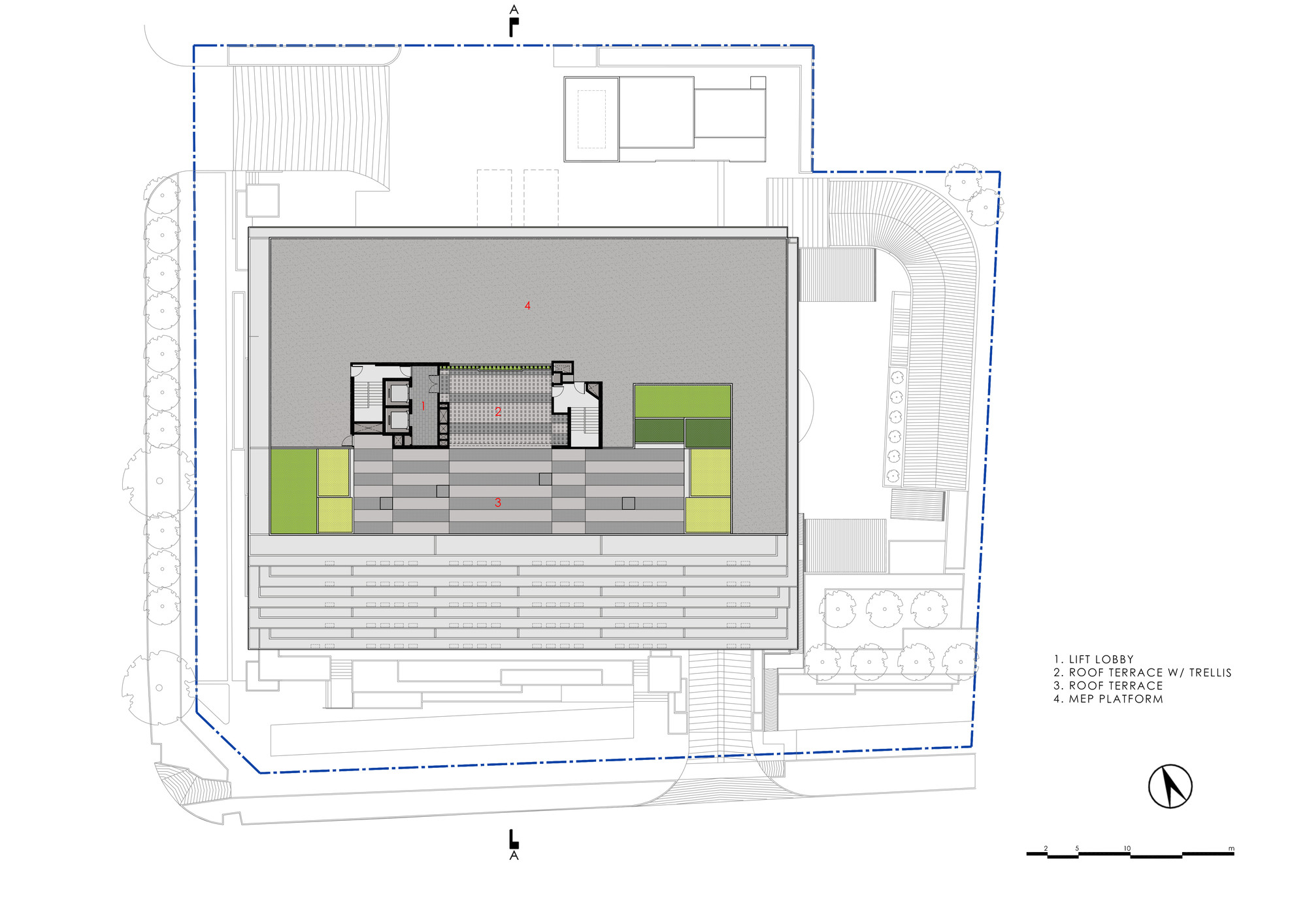 100 trellis plan trellis apartments whitneybell perry trellis plan gallery of 100pp office building ministry of design 16