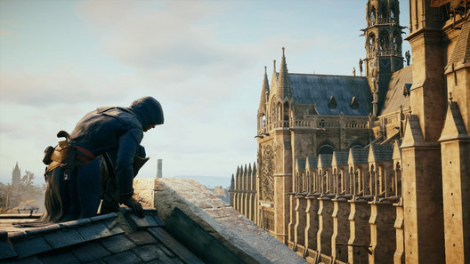 Screenshot from Assassin's Creed: Unity. Image © Flickr CC user Zehta