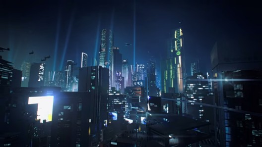 The city featured in Mirror's edge. Image via mirrorsedge.com