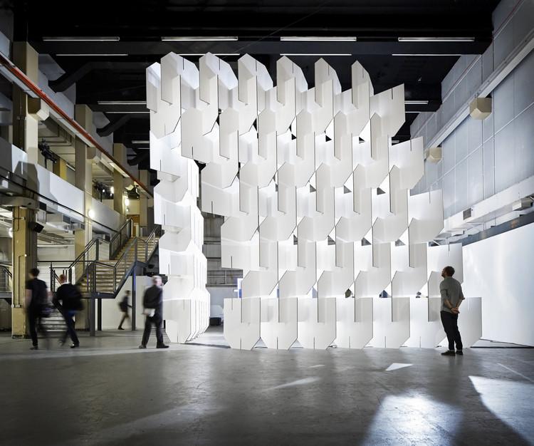 Populous crea instalación inspirada en Charles y Ray Eames para World Architecture Festival London, © Hufton + Crow