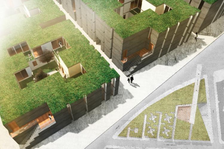 Parque-Costanera Huillinco, ganador segundo año. Image Cortesia de Arquitectura Caliente