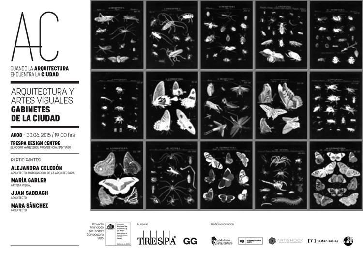Arquitectura y Artes Visuales: octava sesión de 'Cuando la Arquitectura Encuentra la Ciudad' / Santiago