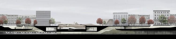 Estación de Metro Los Héroes, gran ganador tercer año. Image Cortesia de Arquitectura Caliente