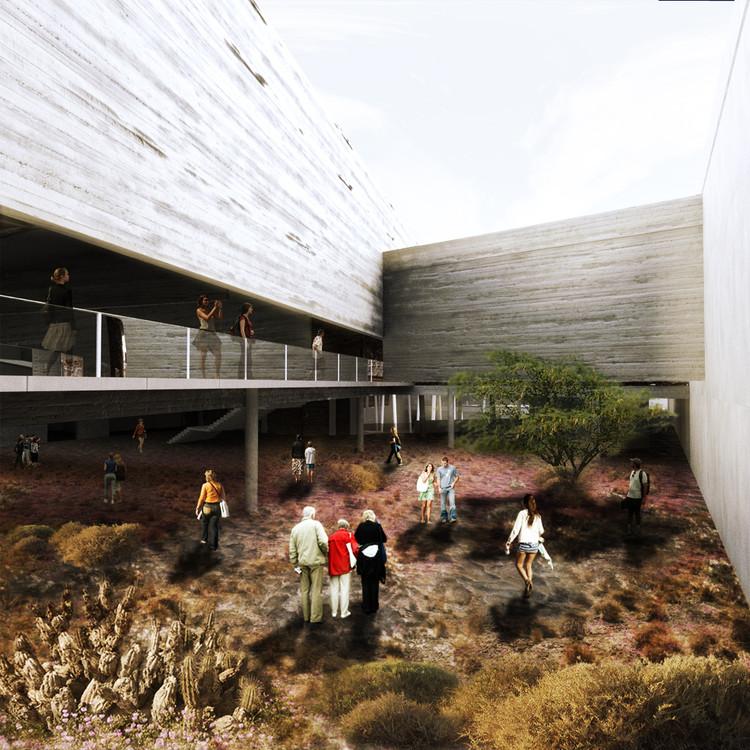 Jardín Botánico Subterráneo, gran ganador cuarto año. Image Cortesia de Arquitectura Caliente