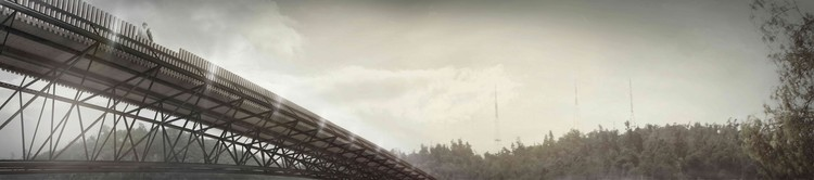 Puente en Providencia, ganador cuarto año. Image Cortesia de Arquitectura Caliente