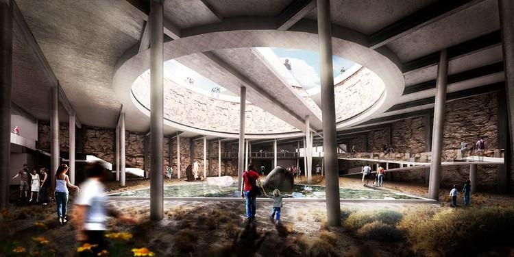 CNPP 2015: conoce los proyectos premiados en la categoría Cuarto Año, Jardín Botánico Subterráneo, gran ganador cuarto año. Image Cortesia de Arquitectura Caliente