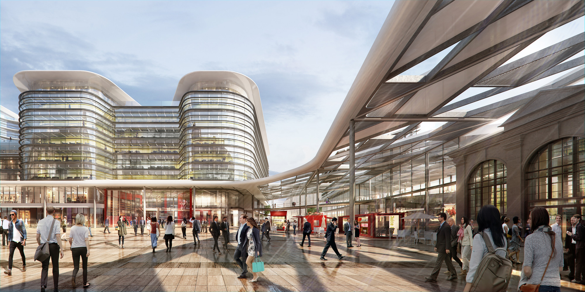 Foster Partners Win Competition To Design Cardiff
