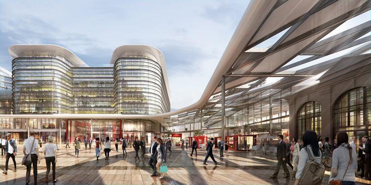 Foster + Partners construirá la nueva estación central de autobuses de Cardiff, © Foster + Partners