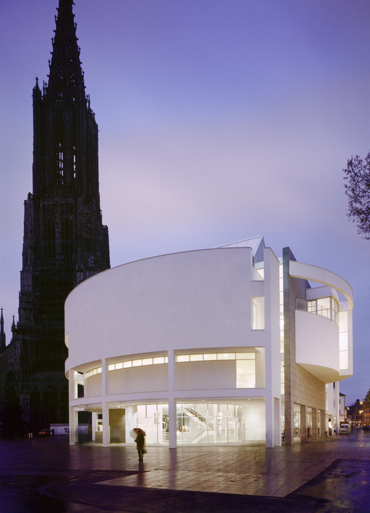 Exhibition: Picture, Tower, Building – Richard Meier and the Ulm Minster, Ulm Stadthaus Exhibition & Assembly Building - Copyright Scott Frances