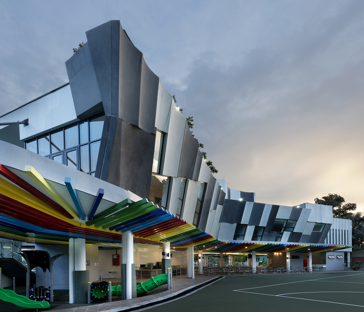 Alice Smith School Jalan Bellamy / iP.LCW + MvS Architects, © Lin Ho Photography