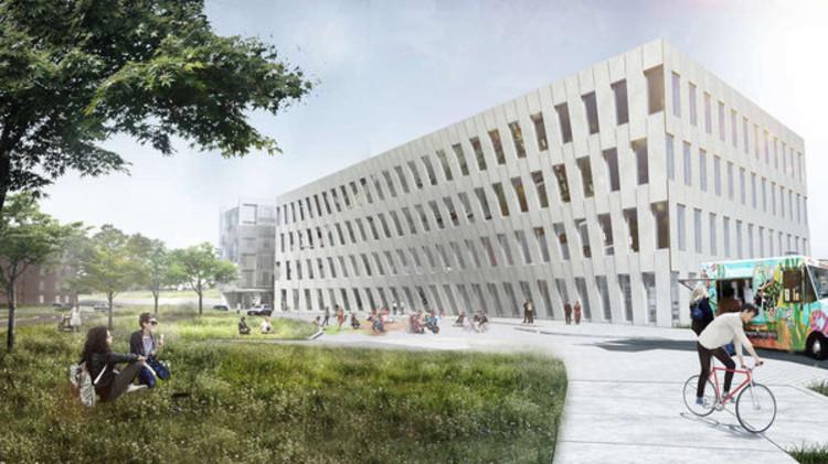 BIG Office Building to Break Ground at Philadelphia's Navy Yard, via Philadelphia Inquirer