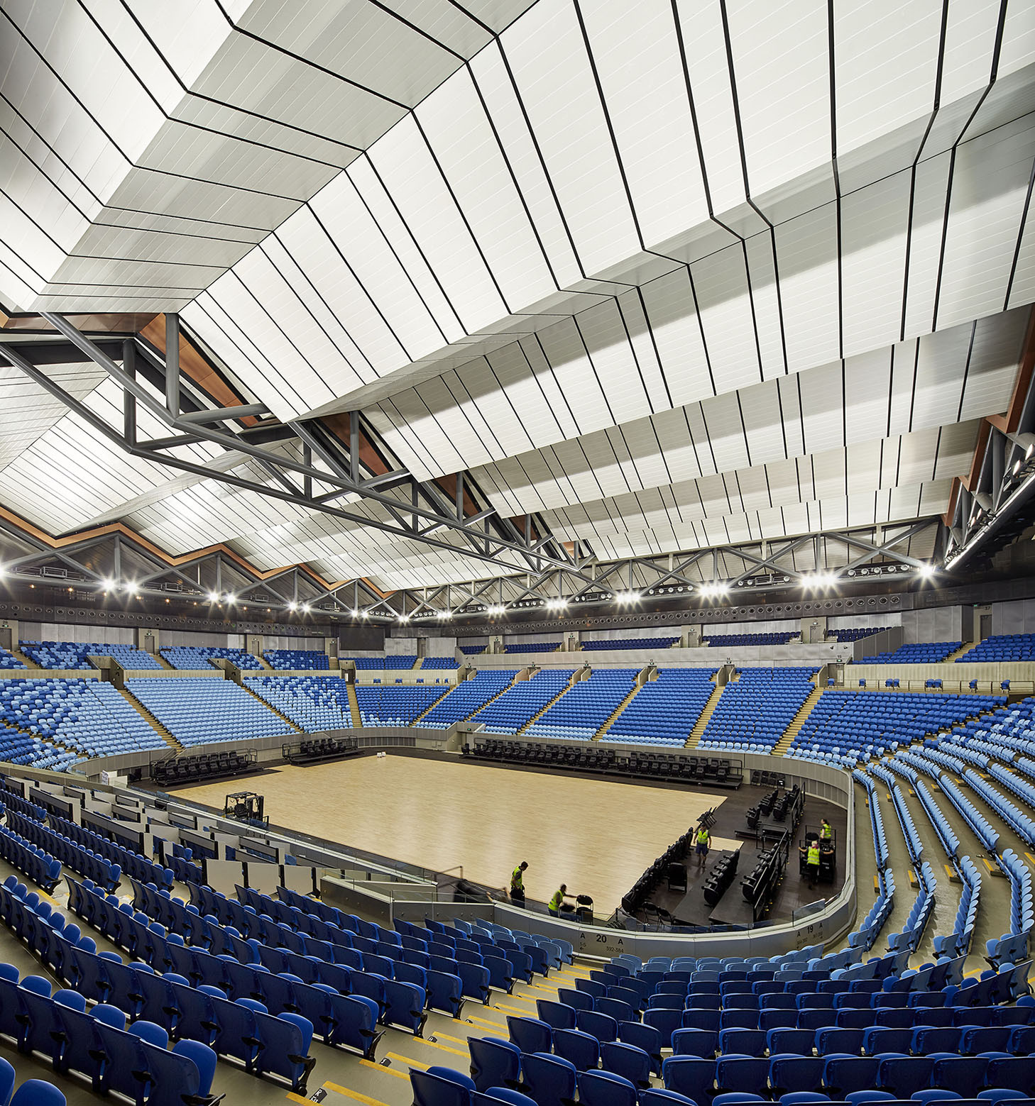 Gallery of Margaret Court Arena Redevelopment / NH