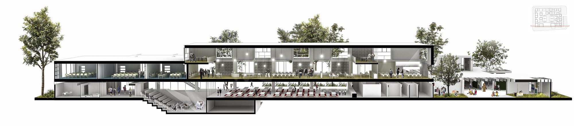 Galer a de fp arquitectura cuarto lugar en concurso for Arquitectura nota de corte