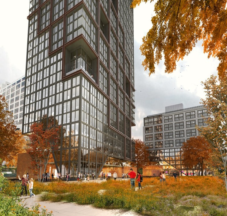 ODA Unveils Plans for Brooklyn Bridge Park Residential Towers, © ODA Architecture