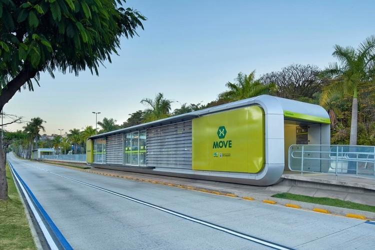 BRT -Estaciones MOVE BH / Gustavo Penna, © Jomar Bragança