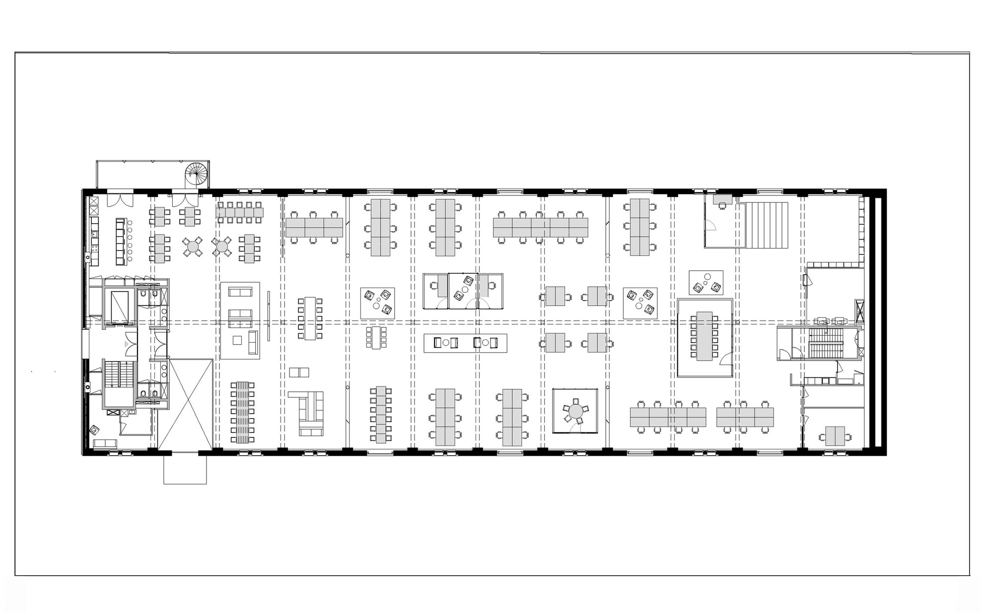 Gallery of fairphone head office in amsterdam melinda for Office interior design floor plans