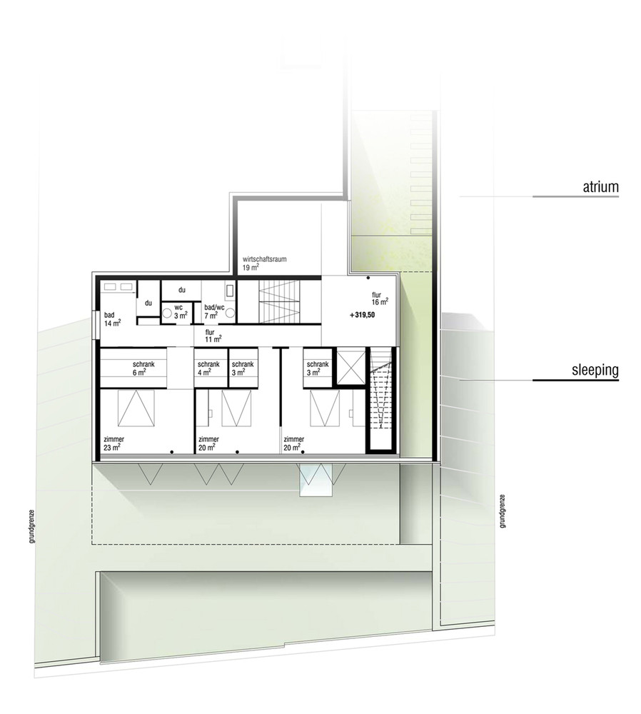 Gallery of house gt archinauten 3 for Gt issa floor plans
