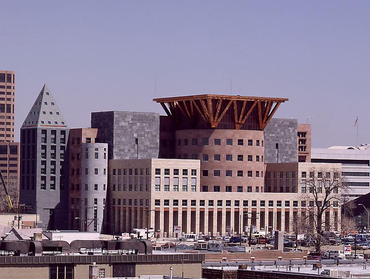 Denver Central Library. Imagen © Michael Graves