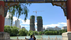 MAD Tops Out on Beijing's Chaoyang Park Plaza