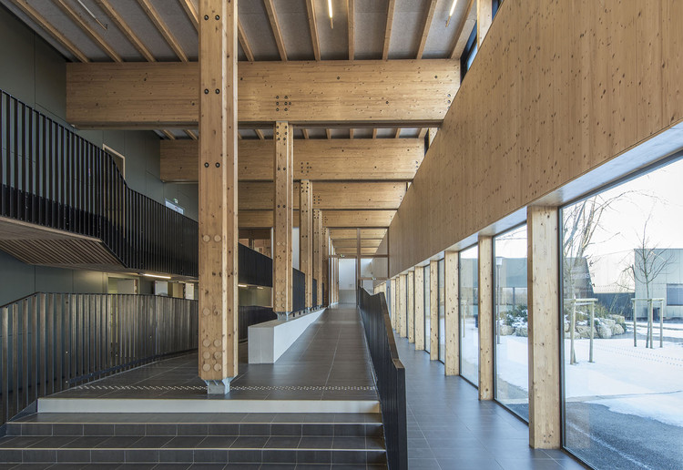 The Proudhon Secondary School in Besançon / Tectoniques + Architectures Adelfo Scaranello, Courtesy of Tectoniques Architects