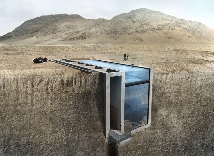 Live on the Edge with OPA's Casa Brutale, © OPA Works