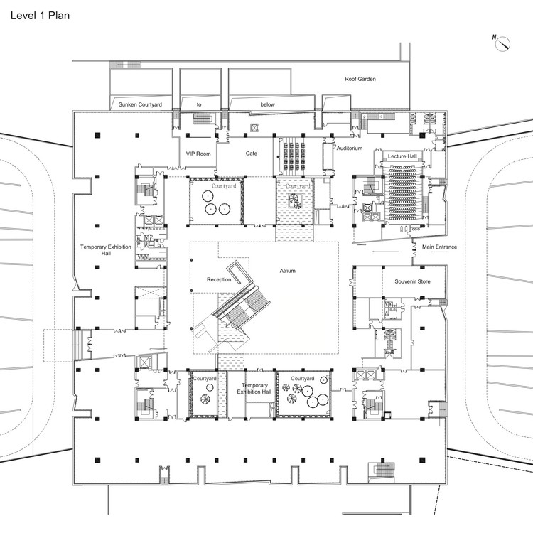 D Exhibition Floor Plan : Yunnan museum rocco design architects archdaily
