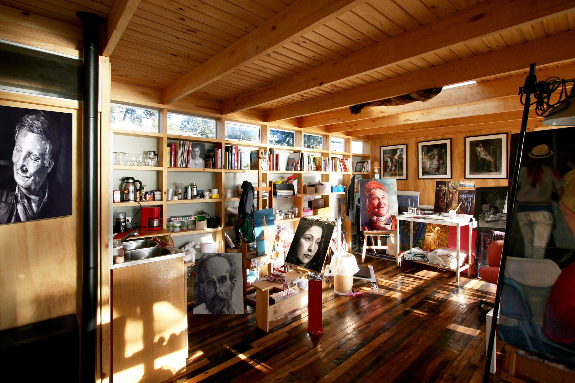 Gallery of garage art studio juan luis mart nez nahuel 3 for Garage con studio