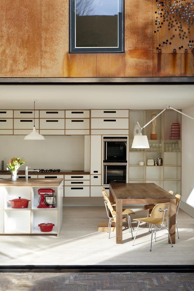 Открытая кухня в доме