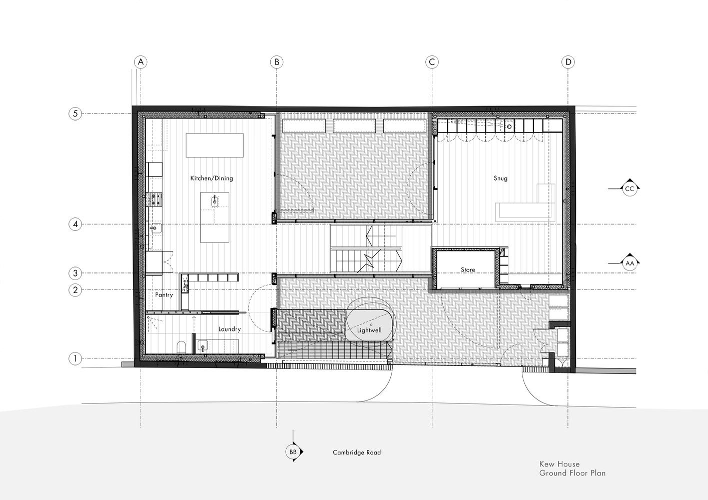 Проект дома с четырьмя спальнями от Piercy&Company