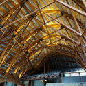 Completed Roof Structure. Image Courtesy of dEEP Architects