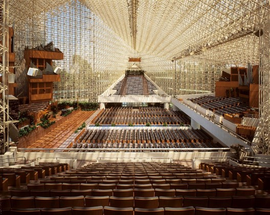 The Crystal Cathedral. Image Courtesy of American Seating