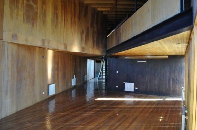Casa de Cobre 1: interior. Image vía Chiloé Propiedades
