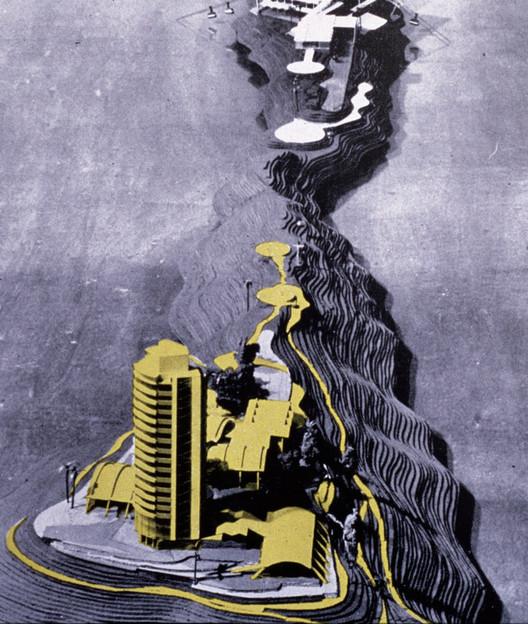Maqueta Conjunto. Image Cortesía de Colección Tomás José Sanabria. Fundación Privada de Compromiso Urbano, Fundación Alberto Vollmer