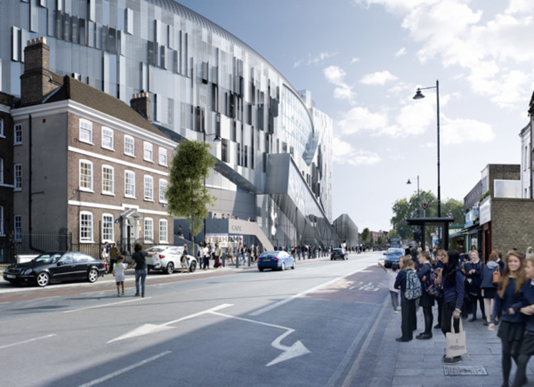 Populous Designs Tottenham Hotspur's New Stadium in London, © Populous
