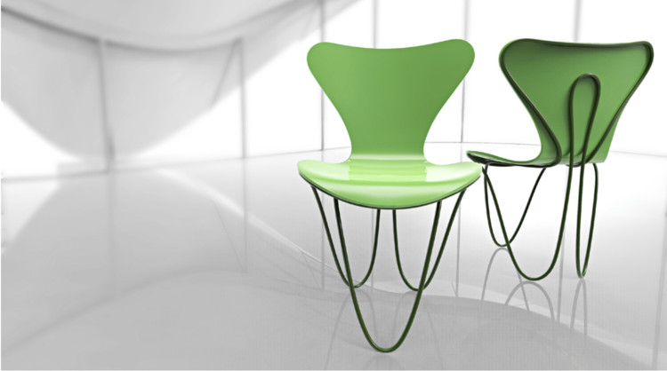 Zaha Hadid Design. Imagen via www.fritzhansen.com