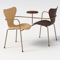 Neri&Hu Design & Research Office. Image via www.fritzhansen.com