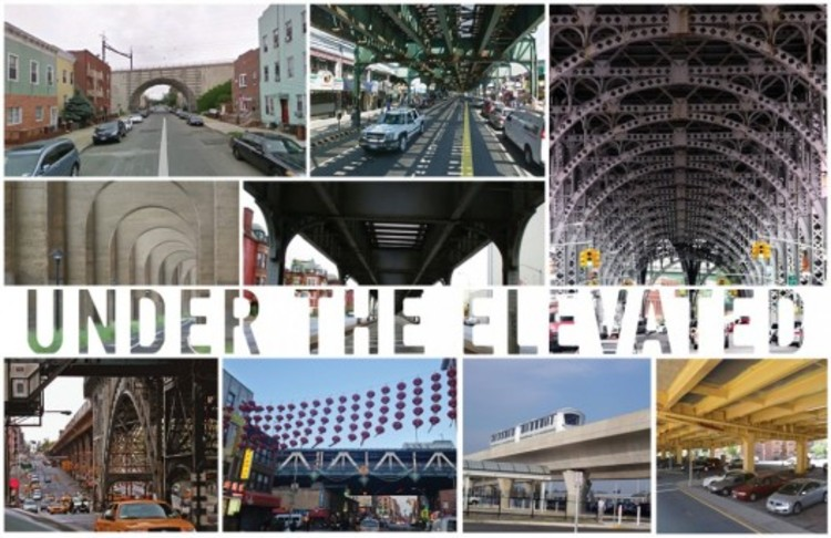 """Under The Elevated"". © Design Trust For Public Space"