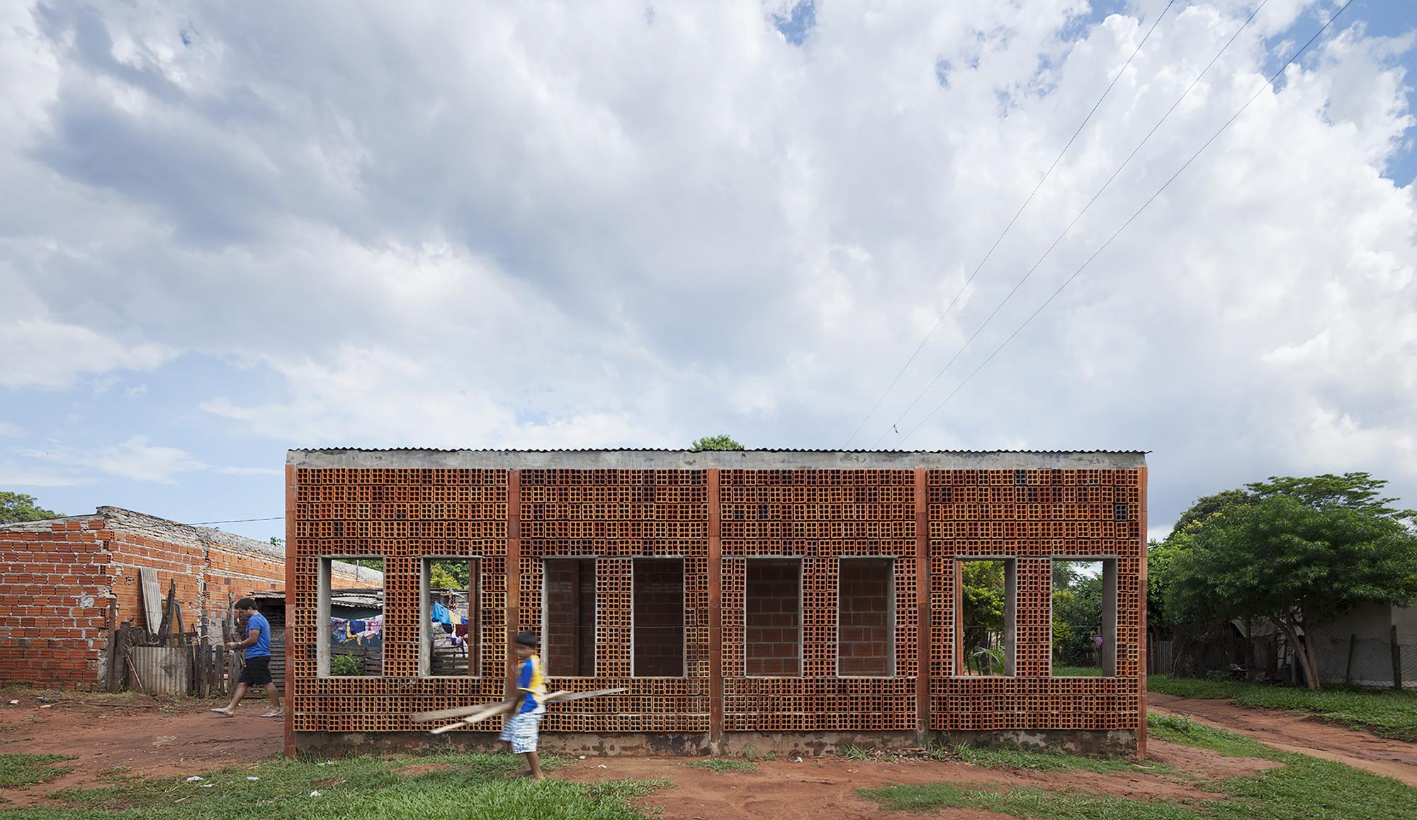 Centro de desarrollo comunitario oca bonini Arquitectura de desarrollo