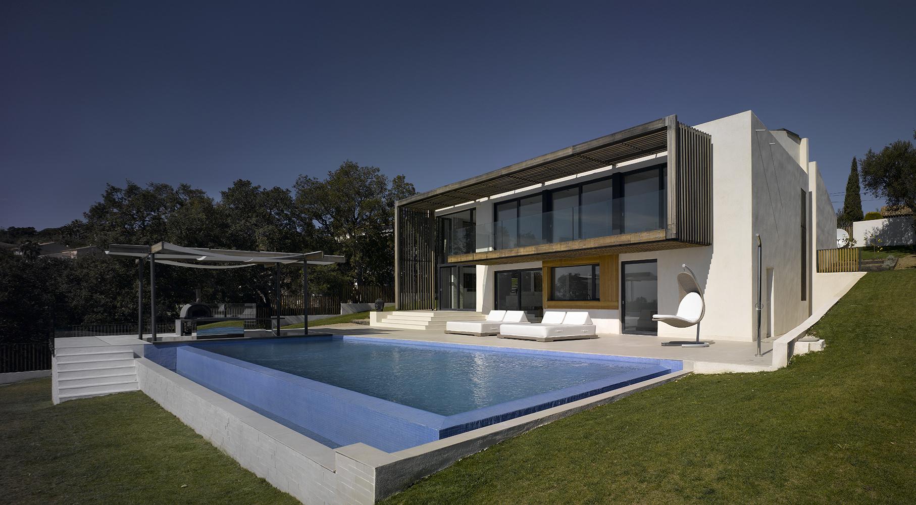 Villa Brash в Сен-Тропе. Проект JaK Studio