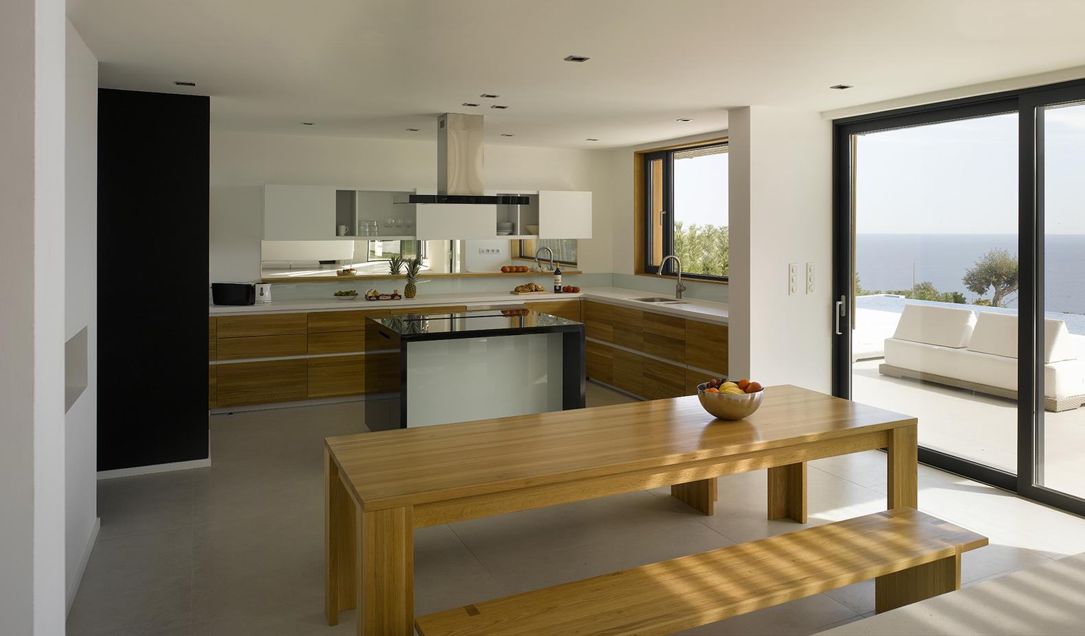 Фото | Современный дизайн кухни-столовой