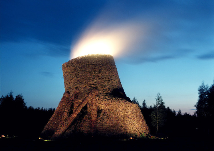 Hyperboloid / Volcano (2009). Image Courtesy of Nikolay Polissky